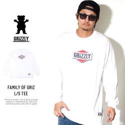 Grizzly Griptape 長袖Tシャツ FAMILY OF GRIZ L/S TEE GMC1802P08