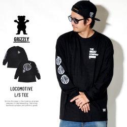 Grizzly Griptape 長袖Tシャツ LOCOMOTIVE L/S TEE GMC1802P15