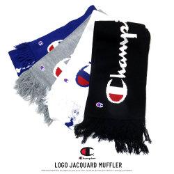 CHAMPION チャンピオン マフラー LOGO JACQUARD MUFFLER 766-0018