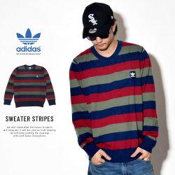 adidas Skateboarding アディダス スケートボーディング セーター SWEATER STRIPES DH6661