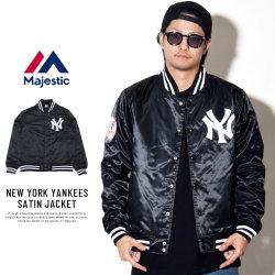 MAJESTIC マジェスティック バーシティジャケット NEW YORK YANKEES SATIN JACKET MM23-NY-8F39