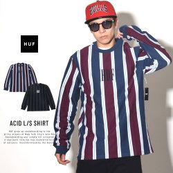 HUF ハフ 長袖Tシャツ ACID L/S SHIRT KN00071