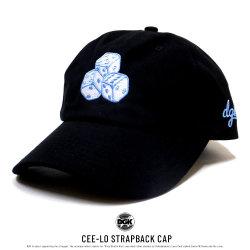 DGK ディージーケー カーブバイザーキャップ CEE-LO STRAPBACK CAP HEH-1004