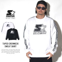STARTER スターター トレーナー TAPED CREWNECK SWEAT SHIRT 6S8G0506