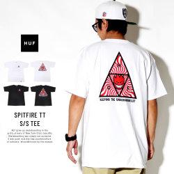 HUF ハフ 半袖Tシャツ SPITFIRE TT S/S TEE TS00656