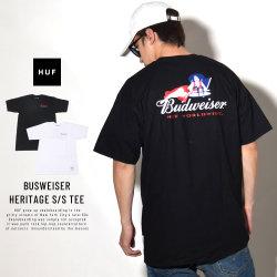 HUF ハフ 半袖Tシャツ BUDWEISER HERITAGE S/S TEE TS00745