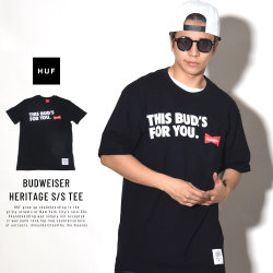 HUF ハフ 半袖Tシャツ THIS BUDS FOR YOU S/S TEE TS00748