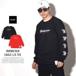 HUF ハフ 長袖Tシャツ BUDWEISER EAGLE L/S TEE TS00781