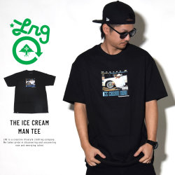 LRG エルアールジー 半袖Tシャツ THE ICE CREAM MAN TEE M181050S