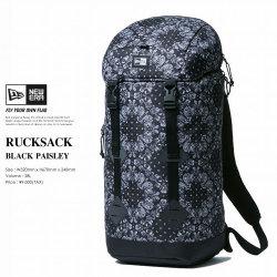 NEW ERA ニューエラ ラックサック RUCKSACK PAISLEY ブラックペイズリー (11556629)