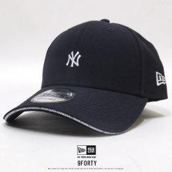 NEW ERA ニューエラ カーブバイザーキャップ 9FORTY ニューヨーク・ヤンキース サンドウィッチバイザー ネイビー 11899238