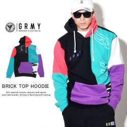 GRIMEY グライミー プルオーバーパーカー BRICK TOP HOODIE  GCH318