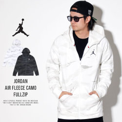 NIKE JORDAN ナイキ ジョーダン ジップパーカー JUMPMAN AIR FLEECE CAMO FULLZIP AV2303