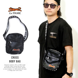 LE TIGRE ルティグレ ボディバッグ CROSS BODY BAG LT-62