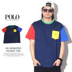 POLO RALPH LAUREN ポロラルフローレン 半袖Tシャツ SS ANIMATED POCKET TEE CLASSIC 710746756001