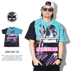 DGK ディージーケー 半袖Tシャツ JUMP LOVE TEE PTB-1000