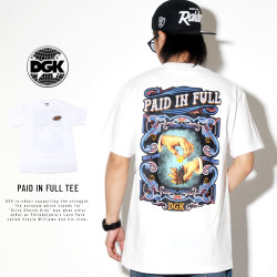 DGK ディージーケー 半袖Tシャツ PAID IN FULL TEE PTM-1419