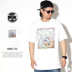 DGK ディージーケー 半袖Tシャツ BONES TEE PTM-1424