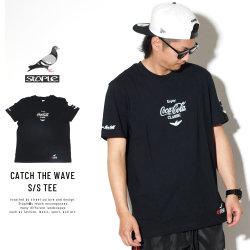 STAPLE ステイプル 半袖Tシャツ CATCH THE WAVE S/S TEE 1901C5456