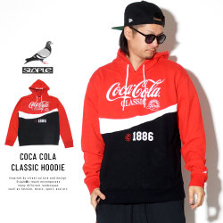 STAPLE ステイプル プルオーバーパーカー COCA COLA CLASSIC HOODIE 1901H5201