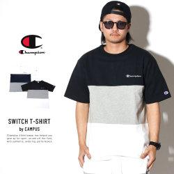 CHAMPION チャンピオン 半袖Tシャツ 3色切替 CAMPUS T-SHIRT C3-P340