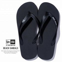 NEW ERA ニューエラ サンダル Beach Sandals ビーチサンダル ニューエラ ブラック 11901533