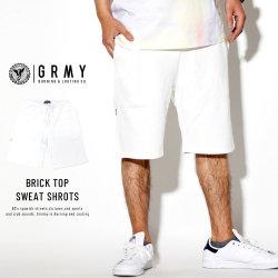 GRIMEY グライミー スウェットハーフパンツ BRICK TOP SWEAT SHROTS GSS128