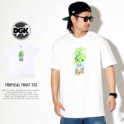 DGK ディージーケー 半袖Tシャツ TROPICAL FRUIT TEE PTM-1436