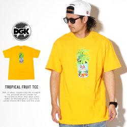DGK ディージーケー 半袖Tシャツ TROPICAL FRUIT TEE PTM-1437