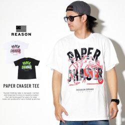 REASON リーズン 半袖Tシャツ T0-147 PAPER CHASER TEE