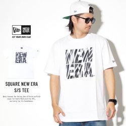 NEW ERA ニューエラ 半袖Tシャツ コットン Tシャツ ゼブラ スクエア ニューエラ ホワイト 11900228