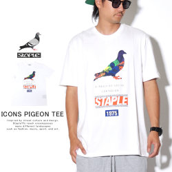 STAPLE ステイプル 半袖Tシャツ ICONS PIGEON TEE 1904C5369