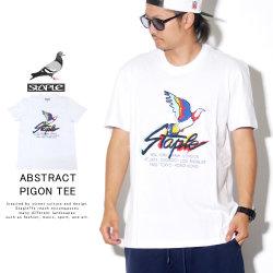 STAPLE ステイプル 半袖Tシャツ ABSTRACT PIGEON TEE 1905C5417