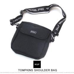 HUF ハフ ショルダーバッグ TOMPKINS SHOULDER BAG AC00233