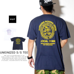 HUF ハフ 半袖Tシャツ UNIONIZED S/S TEE TS00822