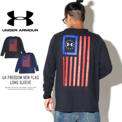 UNDER ARMOUR アンダーアーマー 長袖Tシャツ UA FREEDOM NEW FLAG LONG SLEEVE 1343565