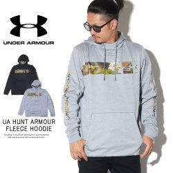 UNDER ARMOUR アンダーアーマー プルオーバーパーカー UA HUNT ARMOUR FLEECE HOODIE 1350785