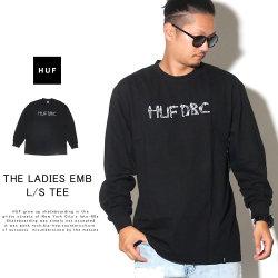 HUF ハフ 長袖Tシャツ THE LADIES EMB L/S TEE TS00805