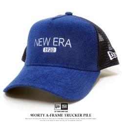 NEW ERA ニューエラ メッシュキャップ 9FORTY A-Frame トラッカー パイル ニューエラ 1920 ネイビー 12119338