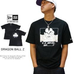 NEW ERA ニューエラ 半袖Tシャツ コットン Tシャツ ドラゴンボールZ ラディッツ ブラック 12110842