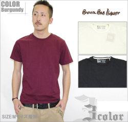 B系ストリート系メンズファッション通販 BROWN BAG LIQUOR Tシャツ BBL-CUT1301