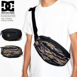 DC SHOES ディーシーシューズ ウェストポーチ メンズ レディース ロゴ スケボー スケーター ファッション 5430E806 鞄 通販 DCBT079