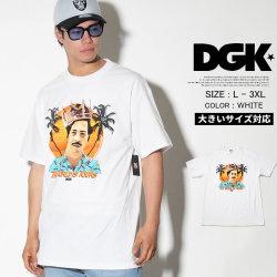 DGK ディージーケー 半袖Tシャツ メンズ 大きいサイズ ストリート系 スケーター ヒップホップ ファッション World is Yours T-Shirt DT-4176 DGTT171