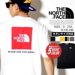 THE NORTH FACE ザノースフェイス Tシャツ メンズ 大きいサイズ 半袖 ヘビーウェイト ロゴ ストリート系 アウトドア ファッション 服 通販 NF0A3SY3