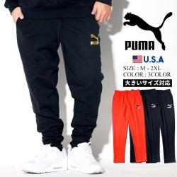 PUMA プーマ スエットパンツ メンズ 大きいサイズ ロゴ スポーツ ストリート系 ファッション 595257 服 通販