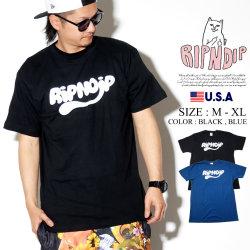 RIPNDIP リップンディップ Tシャツ メンズ 半袖 ネーム ロゴ ストリート系 ファッション RIPNTAIL Tee 服 通販