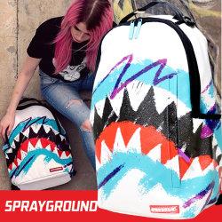 SPRAY GROUND スプレイグラウンド バックパック リュックサック メンズ レディース シャーク ヒップホップ ストリート ファッション 鞄 通販 SOBT001