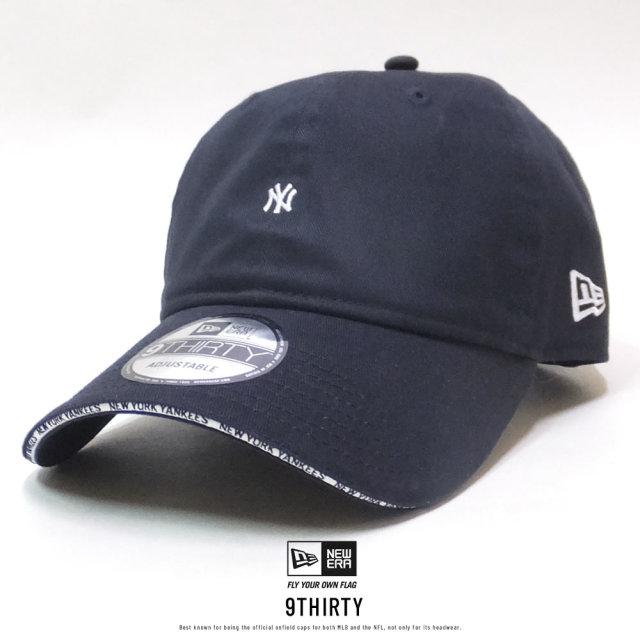 NEW ERA (ニューエラ) キャップ 9THIRTY ニューヨーク・ヤンキース サンドイッチバイザー ネイビー×スノーホワイト (12326363)