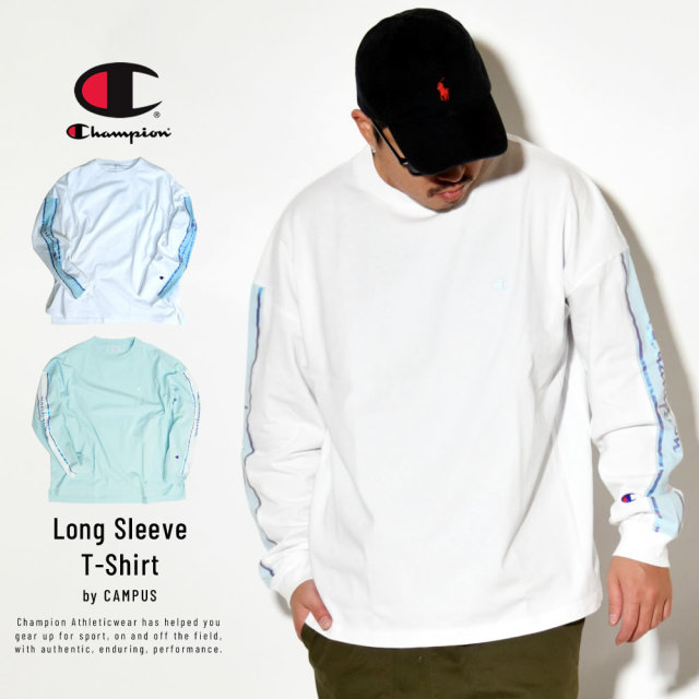 Champion (チャンピオン) 長袖Tシャツ CAMPUS LONG SLEEVE T-SHIRT (C3-R411)