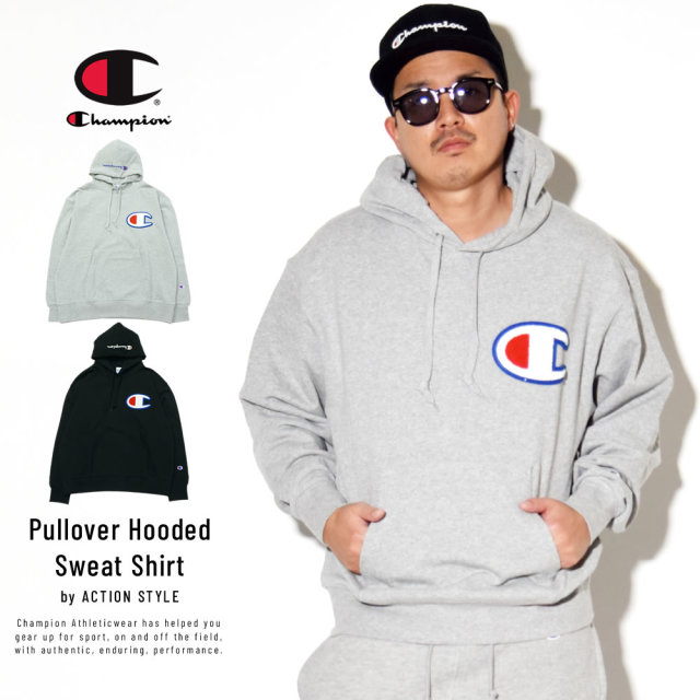 Champion (チャンピオン) プルオーバーパーカー ACTION STYLE PULLOVER HOODED SWEATSHIRT (C3-R101)